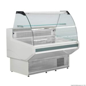 nss1200 bonvue curved deli display