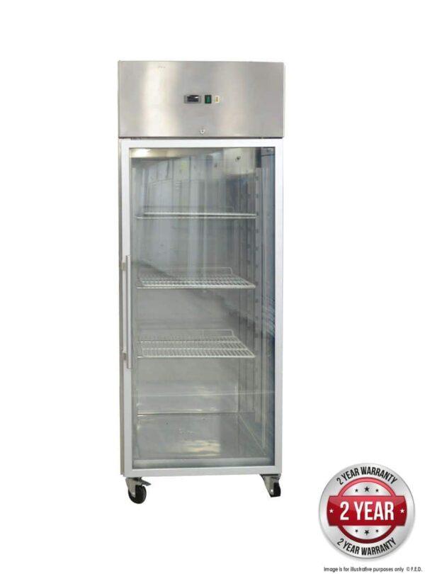 GN650TNG GRAND ULTRA Single Glass Door Upright Fridge 685L -