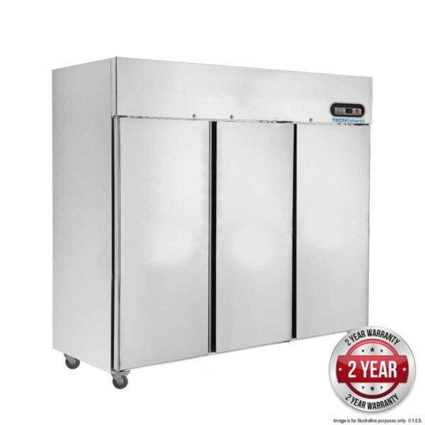 SUC1500 TROPICAL Thermaster 3 Door SS Fridge 1500L -