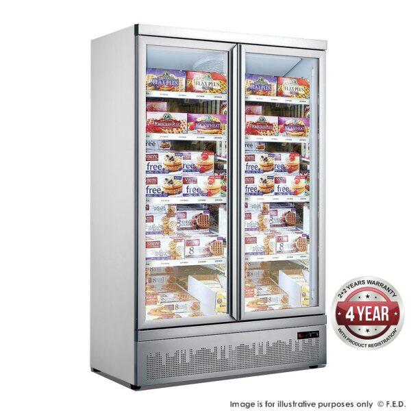 Double Door Supermarket Freezer - LG-1000GBMF -