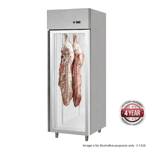 MPA800TNG Large Single Door Upright Dry-Aging Chiller Cabinet -