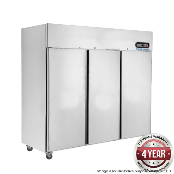 SUC1500 TROPICAL Thermaster 3 Door SS Fridge 1500L -
