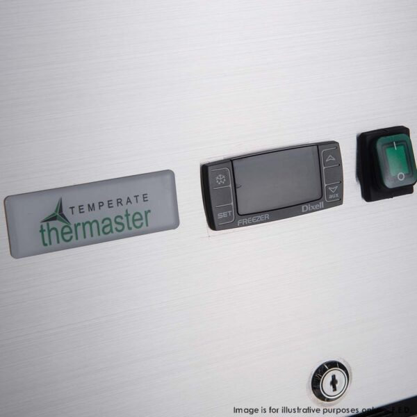 FED-X S/S Two Door Upright Fridge - XURC600S1V -